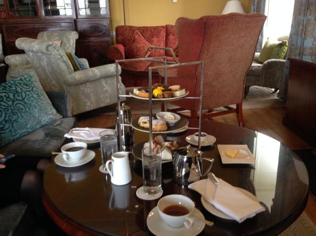 Mount Juliet afternoon tea